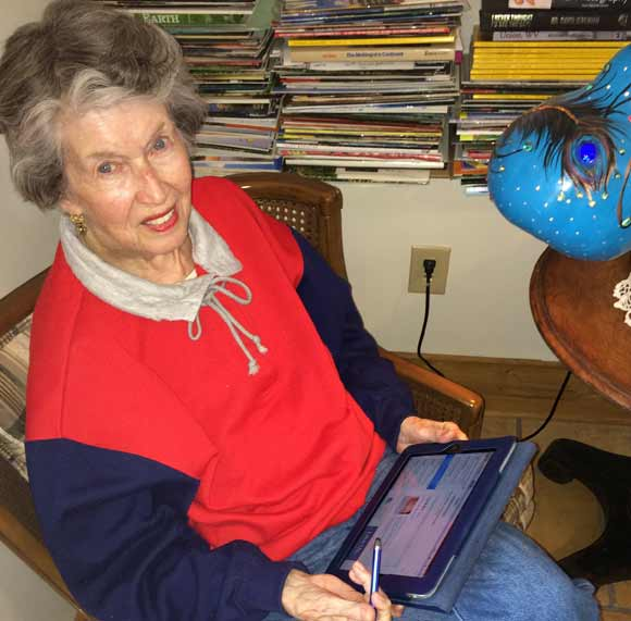 iPad a World-expanding Tool: Even for Moms