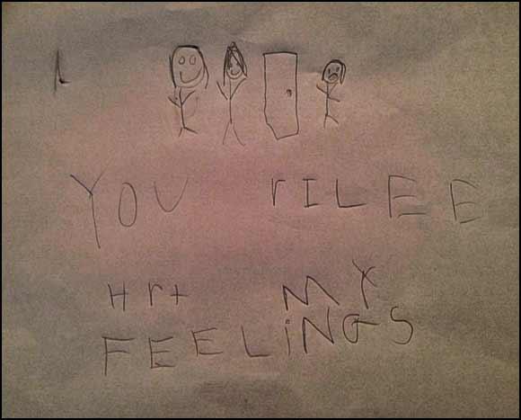 YOU rILEE HrT MY FEELINGS