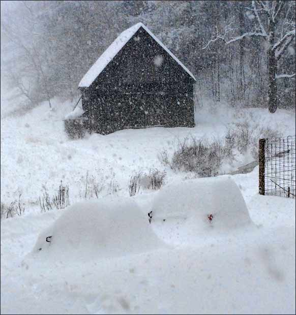Not Going Anywhere: Snow Use