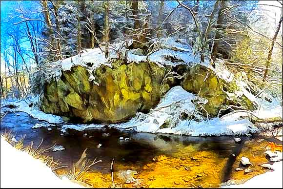Creek Jots ~ 28 Feb 14