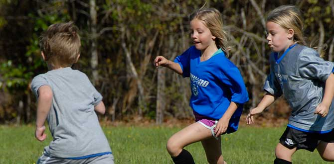 six year old soccer played well